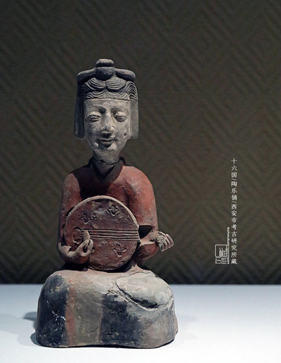 Pottery Figurine of the Sixteen Kingdoms Period