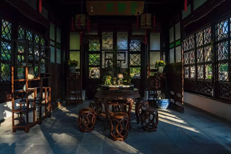 Luxurious Liuting Ge of Humble Administrator's Garden, Renovated by A Rich Businessmen in 1877, Photo from Official Site of Zhuozheng Garden.