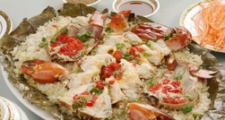 Crab Steamed Sticky Rice