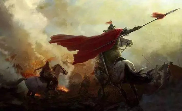 Brave General on Battlefield of the Song Dynasty