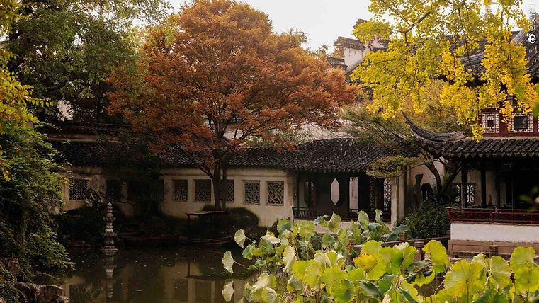 Lingering Garden or Liu Yuan of Suzhou, Photo from Official Site of Lingering Garden.