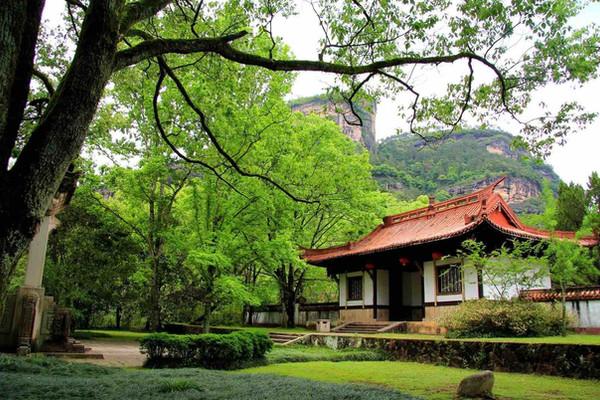 Wuyi Gong or Huixian Guan on Mount Wuyi