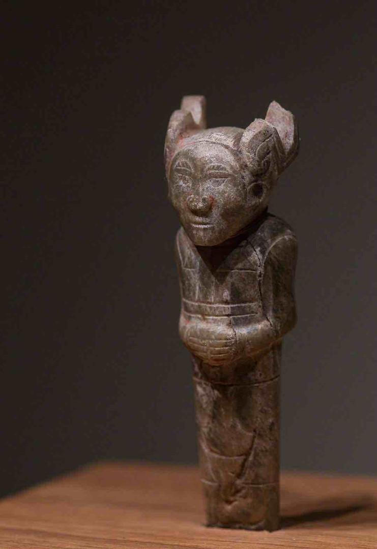 Jade Figurine of Zhou Dynasty — National Museum of China