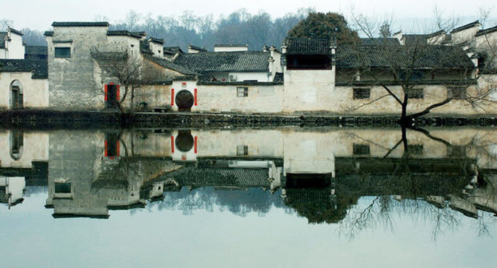 Traditional Southern Style Buildings in Ancient City Huizhou