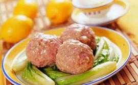 Pork and Shrimp Meatball