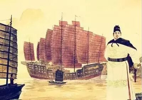 Zheng He and his Fleet of Ming Dynasty in History of China