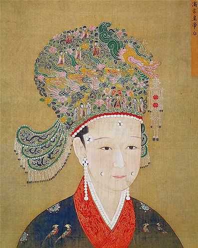 Portrait of Emperor Zhao Gou's Queen, by Court Artist of the Song Dynasty