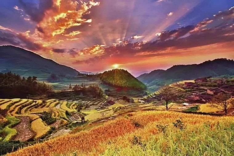 Houyuan Villiage of Mount Wuyi