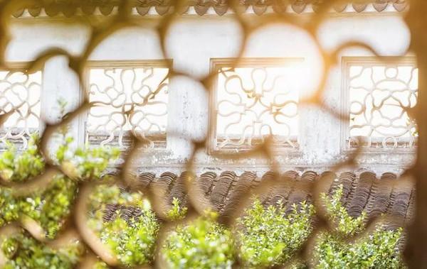 Exquisite Decorative Openwork Windows of Humble Administrator's Garden