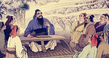 Xun Zi and his students