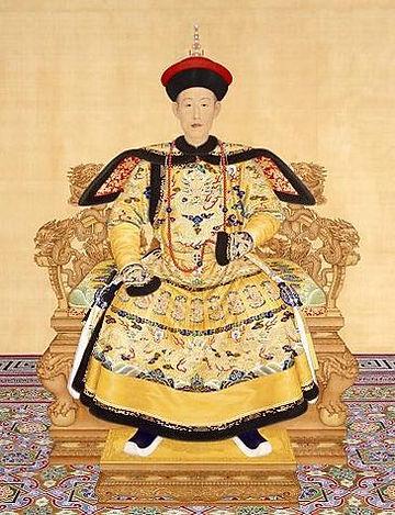 Qianlong Emperor in Court Dress