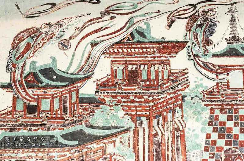 Architectures, Mogao Cave 217, Photo by Dongmaiying.