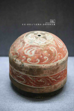 Colorful Painted Pottery Cosmetic Case — Luoyang Museum
