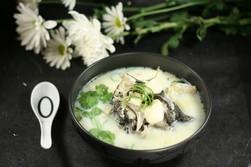 Fish Head and Tofu Soup