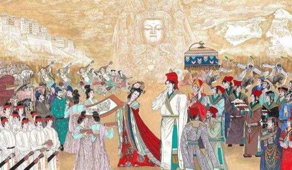 King Songtsen Gampo, Princess Wencheng