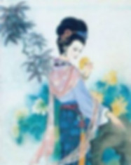 Young Empress Wu Zetian of Tang Dynasty in History of China