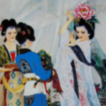 Yang Yu Huan or Yang Gui Fei of Tang Dynasty in history of China