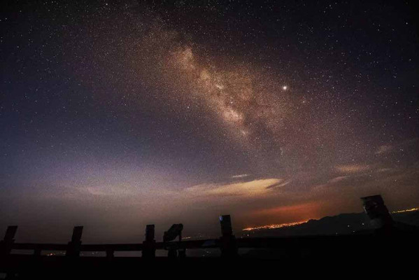 Starry Sky of Mount Heng