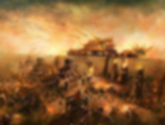 City Under Attack in Tang Dynasty