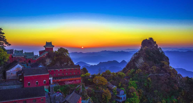 Royal Style Buildings of Wudang Mountains.