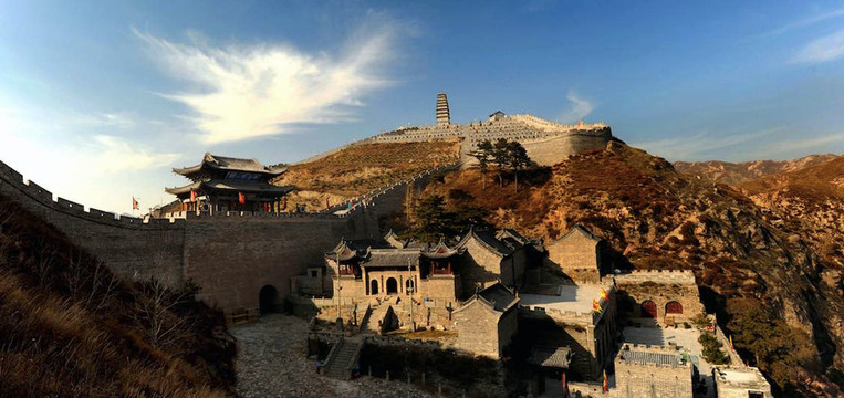 Yanmen Pass, An Important Fortreit on the Great Wall of China, Photo from Official Site of Yanmenguan.