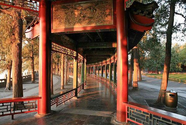 Part of the Long Corridor, Chang Lang, of the Summer Palace.