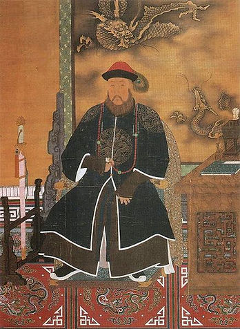 Portrait of Manchu Regent Dorgon of the Qing Dynasty