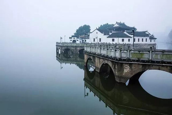 Yanshui Ting, Believed as the Place that General Zhou Yu (175 — 210) to Command His Armies.