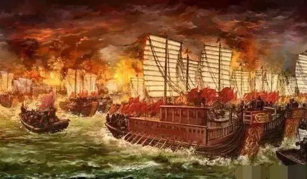 Battle of Poyang Lake the largest scale water battle in the Medieval Era, led by Zhu Yuanzhang