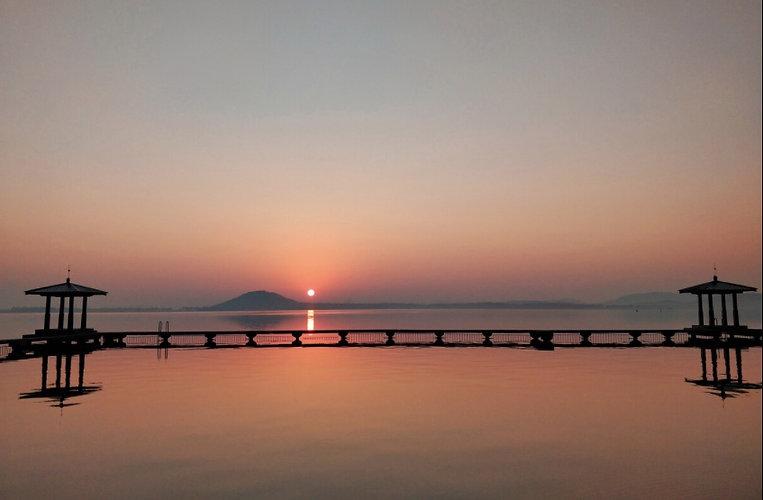 East Lake Scenic Area of Wuhan