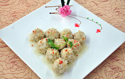 Sticky Rice Fried With Meatball