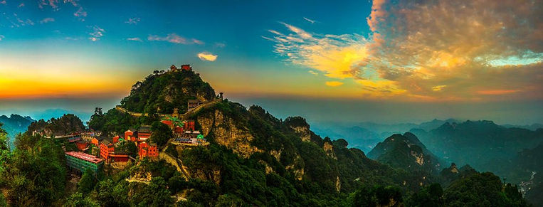 Ancient Taoist Temples in Mount Wudang