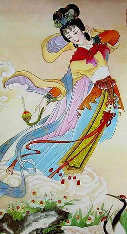 Chinese Flower Goddess of Narcissus