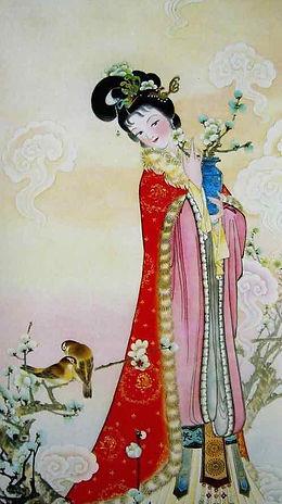 Chinese Flower Goddess of Winter Sweet