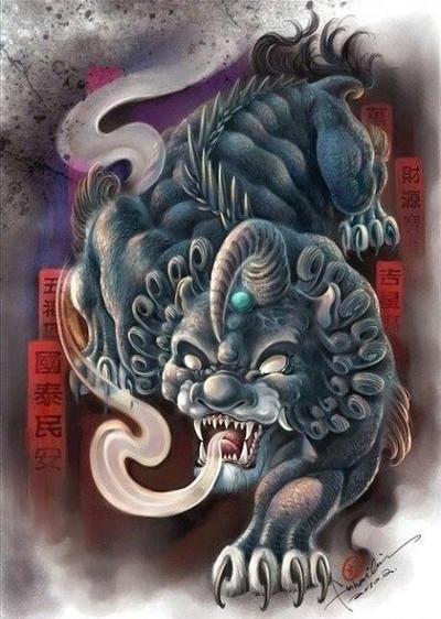 Mythical animal Pi Xiu