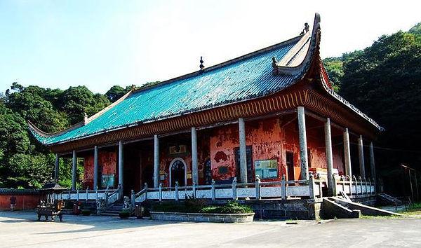 Zangjing Temple of Mount Heng in Hunan