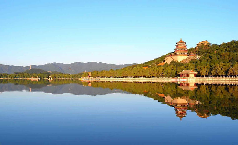 Main Building Groups of The Summer Palace