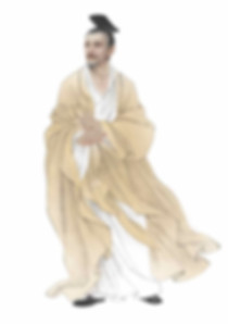 Portrait of Yellow Emperor Huang Di the ancient Chinese Sovereign in Neolithic Period
