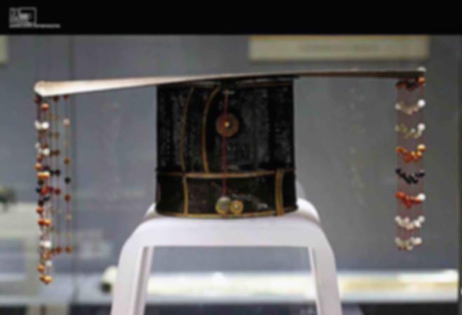 Royal Nine-tasselled Crown (Jiu Liu Mian), Unearthed From Tomb of Prince Zhu Tan, the Tenth Son of Hongwu Emperor Zhu Yuanzhang of the Ming Dynasty