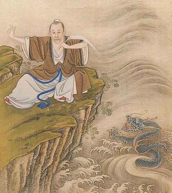 Yongzheng Emperor Wearing Taoist Robe.