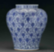 "Porcelain Produced During Wanli Emperor's Reign with ""Longevity"" Characters"