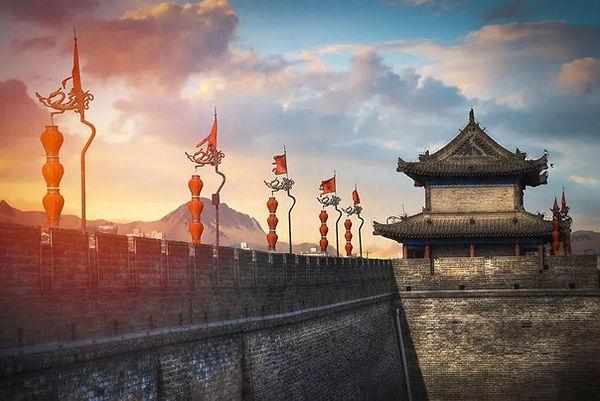 City Wall of Xi'an City