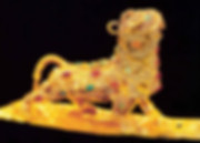 Gold Filigree Mythical Animal Bi Xie (25 — 220)