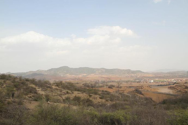 Site of the Changping Battlefield, the Place That Bai Qi Led Qin's Troop Besieged Armies of the State Zhao.