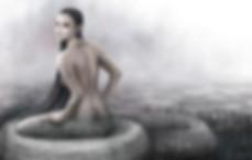 Mythical half-human-half-snake Bai Xi
