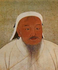 Genghis Khan or Yuan Tai Zu of Yuan Dynasty in History of China