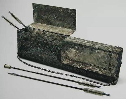 Bronze Arrows Unearthed from Terracotta Army Pits