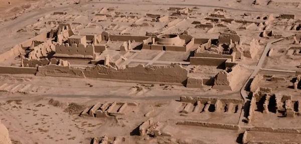 Gaochang Ancient City (1st BC to 14th Century ) near Tulufan City