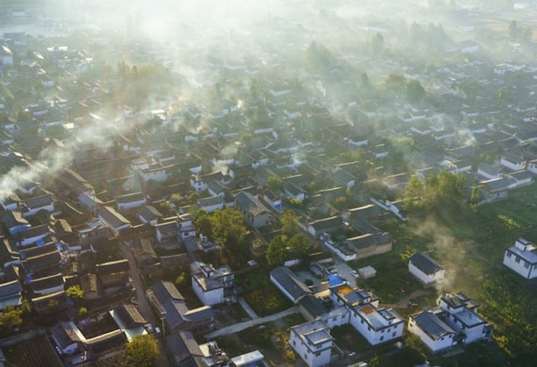 Ancient Baisha Housing Cluster in the Old Town of Lijiang