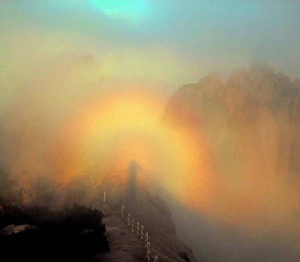 Colorful Shine on Mount Emei from Time to Time.